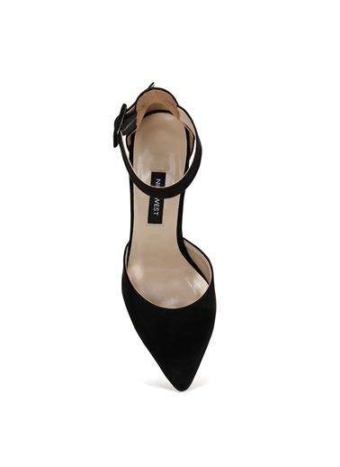 Nine West Nine West Siyah Topuklu Ayakkabı Siyah